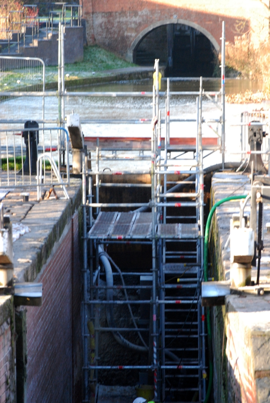 Stret lock's nearly finished.