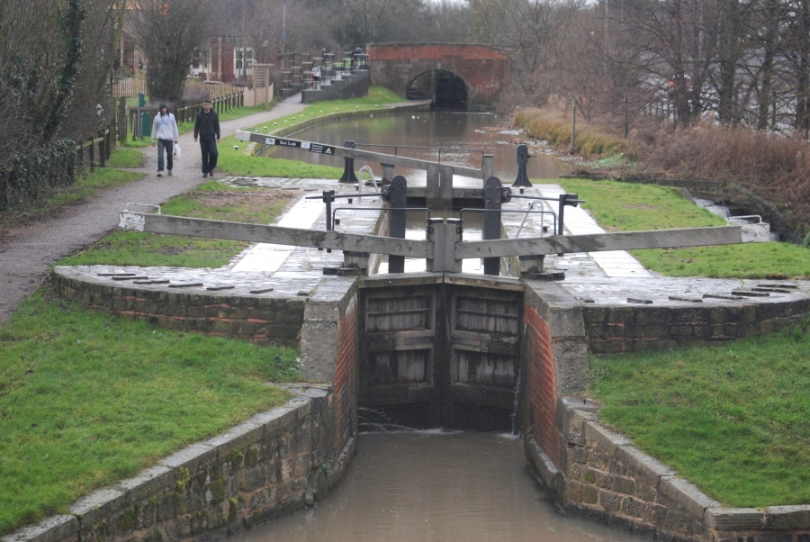 Stret lock open for business after widening