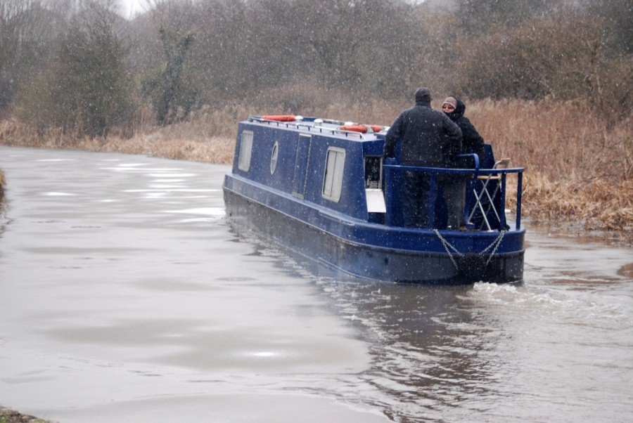 Narrowboat Changing Pace