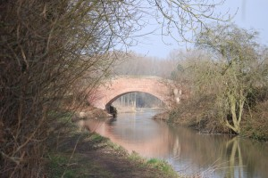 Manton Turnover bridge from a distance