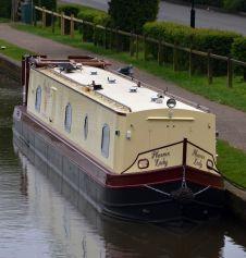 Nb Phoenix Lady - the most beautiful boat on the cut!
