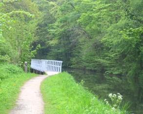 Pudding Dyke weir bridge