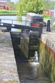 Down at Bracebridge Lock