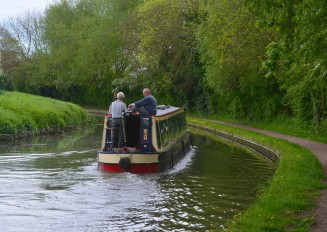 Nb Lady Lee going down to Worksop Town Lock
