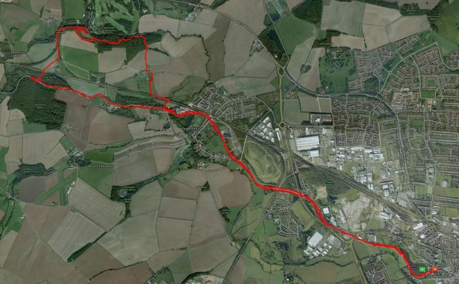 24 July Walk to Lindric w Ian