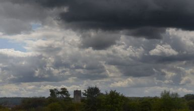 Clouds over St. Anne's