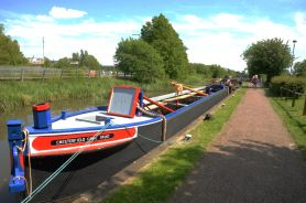 Dawn Rose at the Lock Keeper