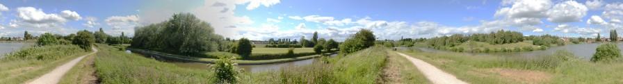 Pond, canal, pond