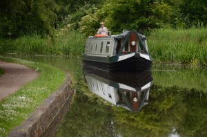 Narrowboat Basil the King