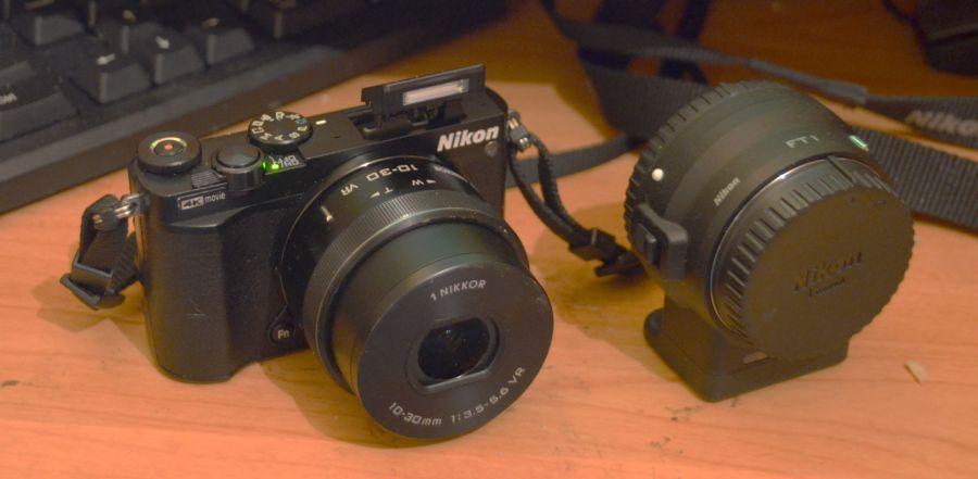 Nikon J5 'mirrorless'