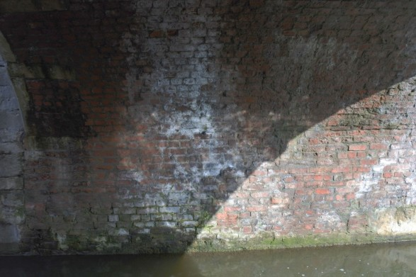 Underside of Highground bridge next to Deep Lock.