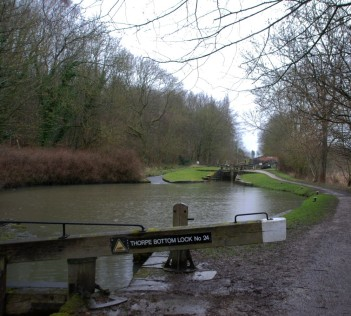 Thorpe Bottom and Middle Locks