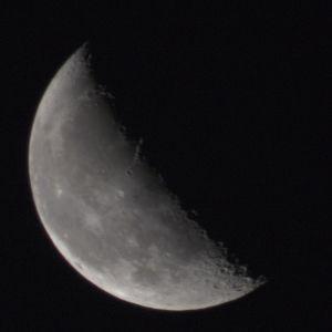 Moon, waning