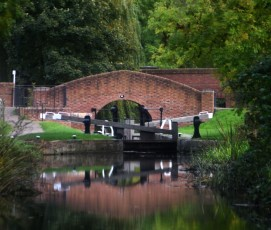 Haggonfields Lock & bridge